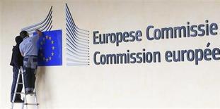 L'Allemagne et la Finlande ont déclaré vendredi que la Commission européenne ne doit pas avoir le dernier mot en matière de liquidation des établissements bancaires. Une autorité de liquidation (résolution) unique pour toutes les banques de la zone euro, dotée de son propre fonds d'intervention, constitue l'un des piliers d'une future union bancaire européenne, avec une autorité de supervision unique incarnée par la Banque centrale européenne (BCE). /Photo prise le 12 septembre 2013/REUTERS/Yves Herman