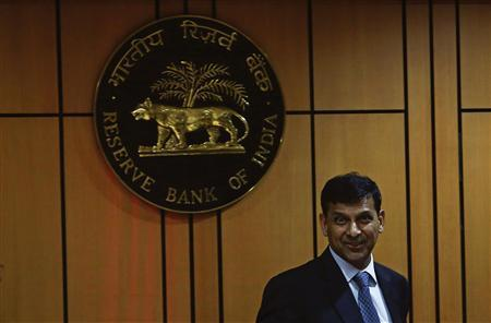 Raghuram Rajan, newly appointed governor of Reserve Bank of India (RBI), arrives for a news conference at the bank's headquarters in Mumbai September 4, 2013. REUTERS/Danish Siddiqui