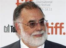 """Director Francis Ford Coppola arrives on the red carpet for """"Twixt"""" during the 36th Toronto International Film Festival (TIFF) in Toronto September 11, 2011. REUTERS/Mark Blinch"""