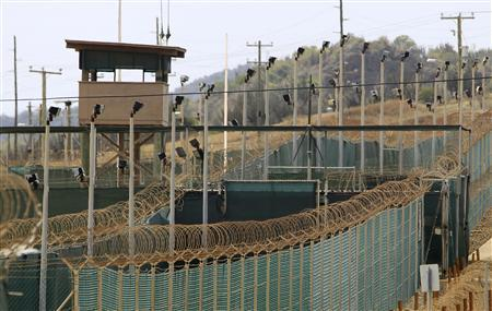 The exterior of Camp Delta is seen at the U.S. Naval Base at Guantanamo Bay, March 6, 2013. REUTERS/Bob Strong