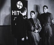 "A scene from the 1934 U.S. anti-Nazi film ""Hitler's Reign of Terror"", by director Cornelius Vanderbilt, is seen in this handout photo by Belgian cinema library (Cinematheque Royale de Belgique). REUTERS/D.R./Handout via Reuters"