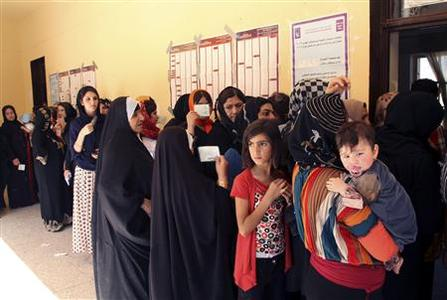 Iraqi Kurds vote as oil-rich region seeks greater autonomy thumbnail