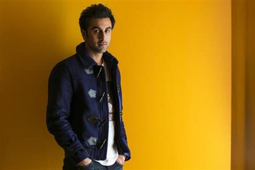 Born to Bollywood royalty, Ranbir Kapoor makes new film a