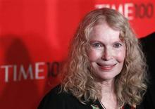 Actress Mia Farrow arrives at the Time 100 Gala in New York, April 24, 2012. REUTERS/Lucas Jackson