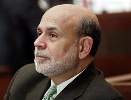 Ben Bernanke, chairman of the Federal Reserve, listens to a presentation during the ''Community Banking in 21st Century'' conference at the Federal Reserve Bank of St. Louis in St. Louis, Missouri, October 2, 2013. REUTERS/Sarah Conard