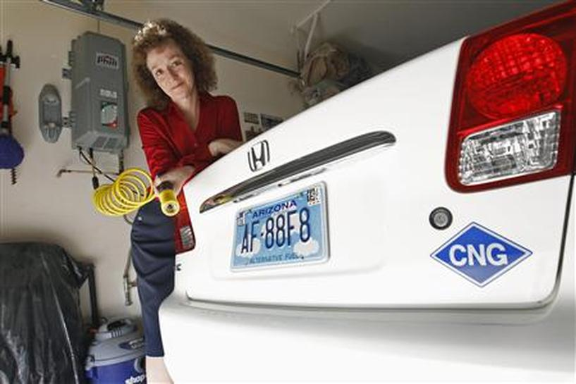Insight: Americans eye cheap home refueling for natural gas
