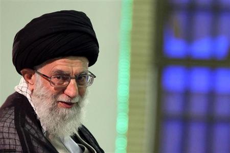 Iran's supreme leader Ayatollah Ali Khamenei attends a meeting with high-ranking officials in Tehran August 31, 2011. REUTERS/www.khamenei.ir/Handout (