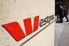 Westpac Banking rachète les actifs australiens de Lloyds Banking Group pour 1,45 milliard de dollars australiens (un milliard d'euros) en numéraire. /Photo d'archives/REUTERS/Tim Wimborne