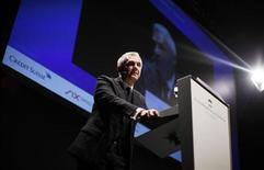 Swiss bank Credit Suisse Chairman Urs Rohner speaks during the Capital Market Forum in Zurich September 3, 2012. REUTERS/Michael Buholzer