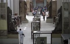 Pharaonic artefacts are seen on display at the Egyptian Museum in Cairo, September 30, 2013. REUTERS/Mohamed Abd El Ghany