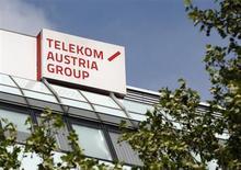 Le président du directoire de Telekom Austria, Hannes Ametsreiter, a déclaré vendredi qu'il ne s'attendait pas à voir America Movil, le groupe du magnat mexicain Carlos Slim, lancer une offre d'achat hostile sur l'opérateur autrichien. /Photo prise le 8 mai 2013/REUTERS/Heinz-Peter Bader
