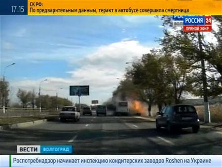 Female suicide bomber attacks Russian bus, kills six - Reuters