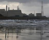 Tokyo Electric Power Co.'s (TEPCO) Kashiwazaki Kariwa nuclear power plant, which is the world's biggest, is seen from a seaside in Kashiwazaki, in this file picture taken November 12, 2012. REUTERS/Kim Kyung-Hoon/Files