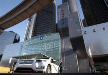 Les Etats-Unis ont comptabilisé une perte de 9,7 milliards de dollars (7,05 milliards d'euros) sur le renflouement de près de 50 milliards de General Motors, selon un rapport remis au Congrès. /Photo d'archives/REUTERS/Rebecca Cook