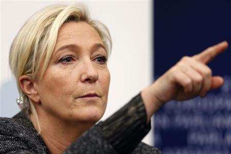 France's Le Pen starts row over freed hostages' beards