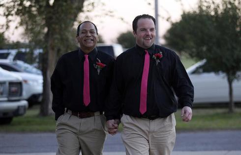 Gay wedding in Oklahoma