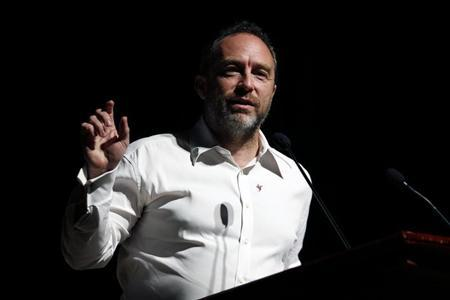 Wikipedia founder Jimmy Wales attends the international Wikimedia conference in Hong Kong August 9, 2013. REUTERS/Tyrone Siu