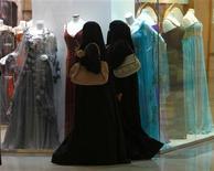 Saudi women shop at Al-Hayatt mall in Riyadh February 15, 2012. REUTERS/Fahad Shadeed