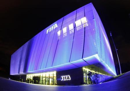 A general view shows FIFA headquarters, the Home of FIFA, in Zurich October 20, 2010. Picture taken with a fish-eye lens. REUTERS/Christian Hartmann