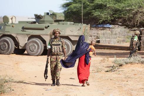 Embedded in Somalia