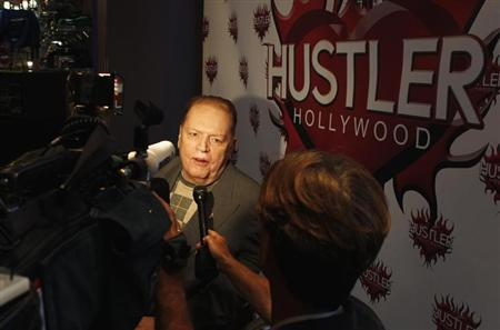 Publisher Larry Flynt President Of Larry Flynt Publications Is Interviewed At The Induction Ceremonies For Adult Film Stars And Producers John Stagliano