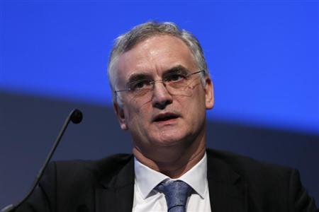 Bank of England's Executive Director for Markets Paul Fisher speaks during the World Islamic Economic Forum in London October 30, 2013. REUTERS/Stefan Wermuth