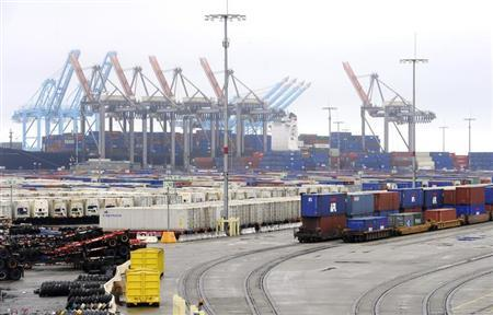 A general view of the Port of Los Angeles, California November 29, 2012. REUTERS/Lori Shepler