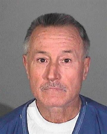 Mark Berndt is shown in this Los Angeles Sheriff Department booking mug released to Reuters January 31, 2012. REUTERS/Los Angeles Sheriffs Department/Handout