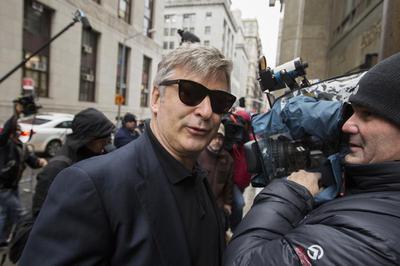 Alec Baldwin in focus
