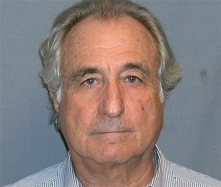 A booking mug shot of Bernard Madoff released to Reuters on March 17, 2009. REUTERS/US Marshall Service/Handout