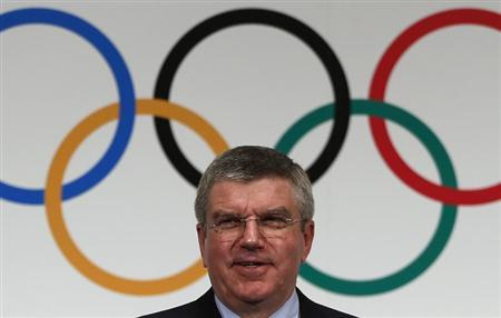 International Olympic Commitee (IOC) President Thomas Bach attends a news conference in Tokyo November 20, 2013. REUTERS/Issei Kato