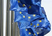 Le Parlement européen a adopté mercredi un budget 2014 de l'Union européenne en baisse de 6%, conformément à un accord passé le 12 novembre dernier avec les gouvernements de l'UE. /Photo d'archives/REUTERS/Thierry Roge