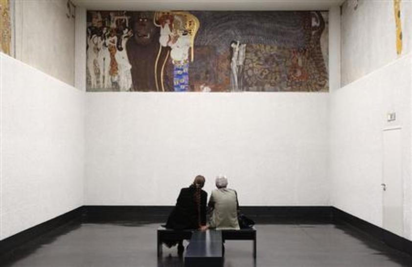 Vienna museum denies Jewish owner sold Klimt frieze under duress ...