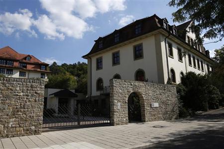 The headquarters of German healthcare company Rhoen-Klinikum AG are pictured in Bad Neustadt near Fulda September 3, 2012. REUTERS/Alex Domanski