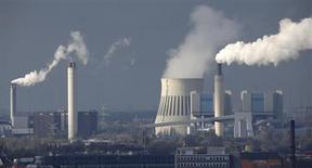 A general view shows Vattenfall's combined heat and power station Reuter West in Berlin, November 5, 2013. REUTERS/Fabrizio Bensch