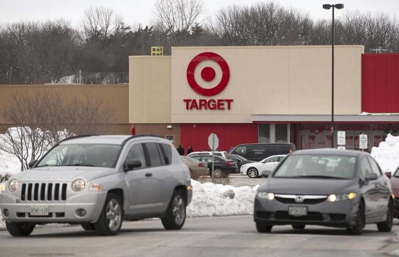 The new Target store is seen in Guelph, Ontario, March 4, 2013, on the eve of its opening. REUTERS/Geoff Robins
