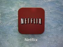 El logo de Netflix en un iPad en Encinitas, EEUU, abr 19 2013. La compañía de videos en línea Netflix se reunió el martes con autoridades de Francia para discutir el posible lanzamiento de su servicio de 'streaming' en el tercer mayor mercado europeo, lo que significaría un golpe a las compañías televisivas tradicionales. REUTERS/Mike Blake