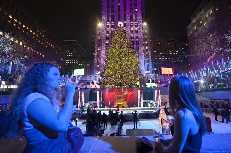 Lighting Of Rockefeller Christmas Tree.Lighting The Rockefeller Christmas Tree Reuters Com