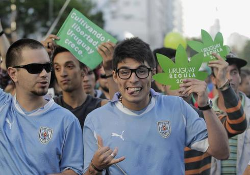 Uruguay legalizes marijuana