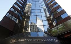 L'assureur américain AIG vend sa filiale de location d'avions ILFC (International Lease Finance Corporation) pour 5,4 milliards de dollars (3,92 millions d'euros) à AerCap Holdings. /Photo d'archives/REUTERS/Mike Segar