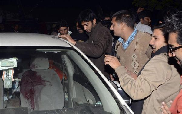 ATTACK On HAMID MIR, THE EVIDENCE: CAR  YOUR ANALYSIS AND