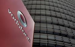 Sede da Vodafone em Duesseldorf, na Alemanha. A Vodafone foi notificada de uma ação judicial de 250 milhões de euros (343,26 milhões de dólares) por ter supostamente violado seus contratos e causado prejuízos a um parceiro varejista grego, relatou o Financial Times no final do domingo. 12/09/2013. REUTERS/Ina Fassbender