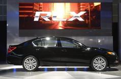 The 2014 Acura RLX is unveiled during a news conference at the 2012 Los Angeles Auto Show in Los Angeles, California November 28, 2012. REUTERS/Phil McCarten