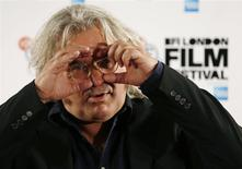 """Director Paul Greengrass attends a photocall for his film """"Captain Phillips"""" during the BFI (British Film Institute) London Film Festival in this file photo from October 9, 2013. REUTERS/Luke MacGregor"""