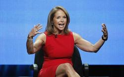 "Host Katie Couric speaks at a panel for ""Katie"" during the Disney/ABC Television Group portion of the Television Critics Association Summer press tour in Beverly Hills, California July 26, 2012. REUTERS/Mario Anzuoni"