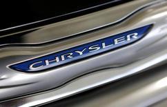 La automotriz italiana Fiat dijo el miércoles que firmó un acuerdo para comprar el 41,46 por ciento de su filial estadounidense Chrysler que aún no posee a VEBA Trust, una asociación de beneficios para empleados. 8 de octubre de 2013. REUTERS/Joe Skipper