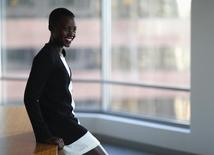 """Actress Lupita Nyong'o, who stars in the movie """"12 Years a Slave,"""" poses for a portrait in Los Angeles, California November 13, 2013. REUTERS/Mario Anzuoni"""