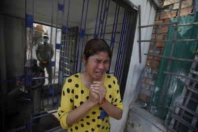 Military fires on garment workers