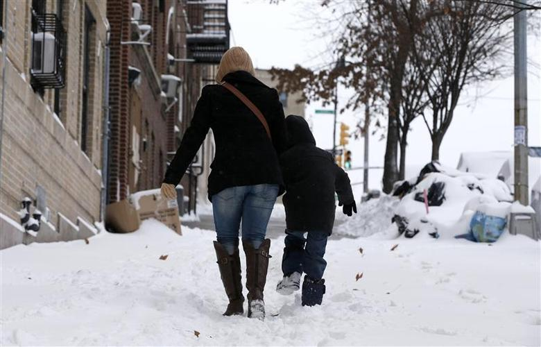 'Life-threatening' cold bites U.S. Midwest