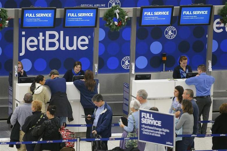 JetBlue, other airlines cancel flights as cold hobbles...